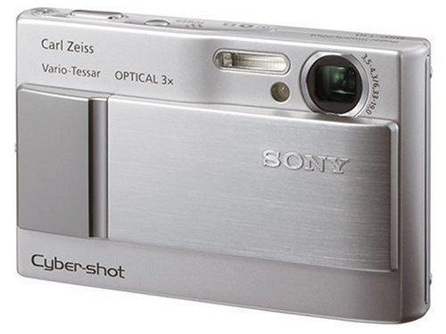 ソニー SONY デジタルカメラ サイバーショット DSC-T10 シルバー DSC-T10
