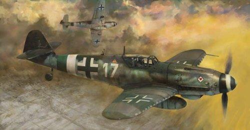 1/72 メッサーシュミット Bf109K-4 ボーデンプラッテ