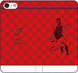 iPhone/Xperia/Galaxy/他機種選択可:サッカー/グラフィティ手帳ケース(デザイン:アーセナル/10番_01) 02 iPhone5c