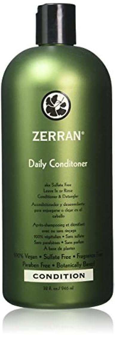 櫛過激派横Zerran デイリーコンディショナー、 32オンス 明確な