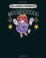 Halloween Notebook: halloween chibi manga otaku kawaii mangaka  College Ruled - 50 sheets, 100 pages - 8 x 10 inches