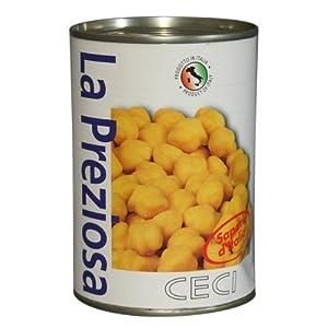 ラ・プレッツィオーザ ひよこ豆(ガルバンゾー) 400g×24個