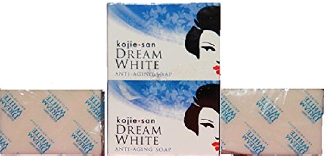 弱める灌漑記念Kojie san Dream white Soap 2 pcs こじえさん ドリームホワイトニングソープ 2個 パック