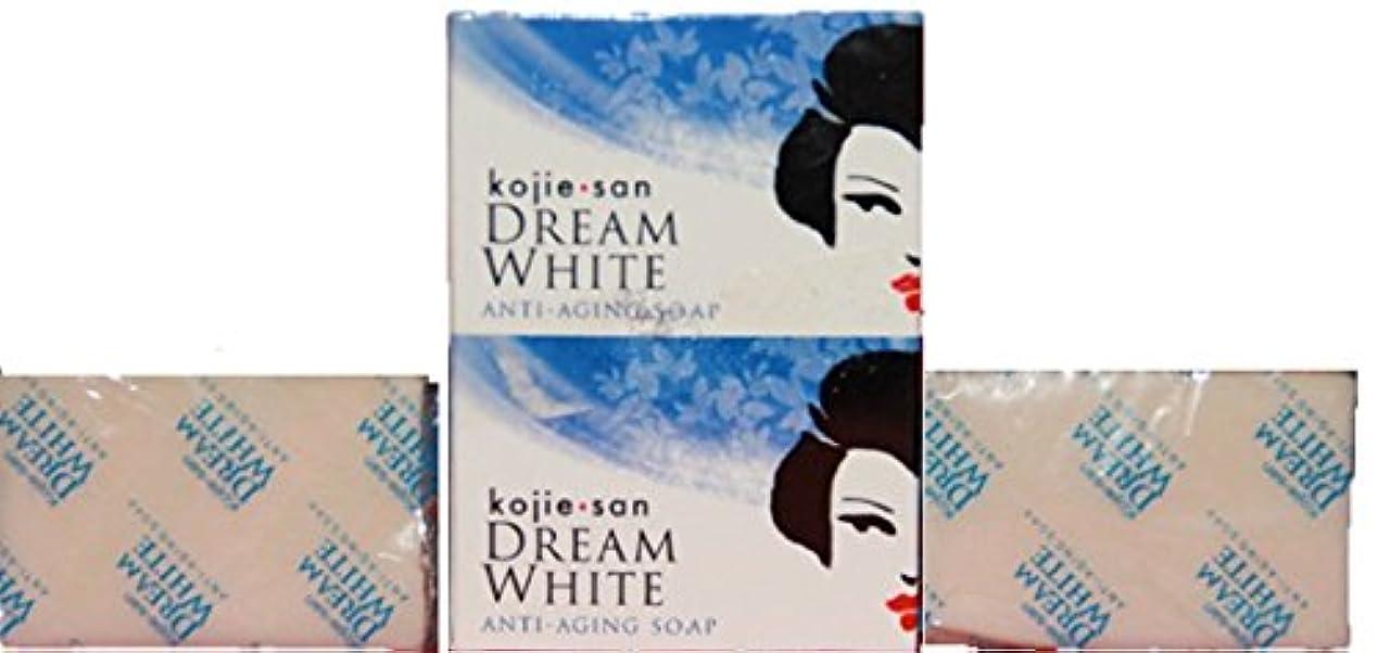 国歌スタウト美容師Kojie san Dream white Soap 2 pcs こじえさん ドリームホワイトニングソープ 2個 パック