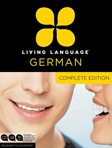 Download Living Language German, Complete Edition: Beginner through advanced course, including 3 coursebooks, 9 audio CDs, and free online learning 0307478556