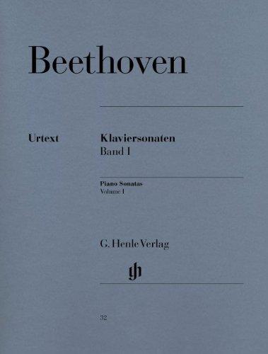 ベートーヴェン: ピアノ・ソナタ集 第1巻/ヘンレ社/原典版...