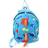 ODN Child Safety Harness Backpack Leash Toddler Anti-Lost Dinosaur Bag