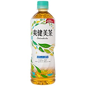コカ・コーラ 爽健美茶 お茶 ペットボトル 600ml×24本
