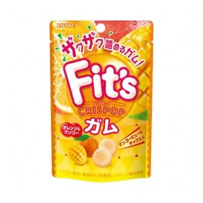 ロッテ Fits Crispop<オレンジ&マンゴー> 27g 60コ入り