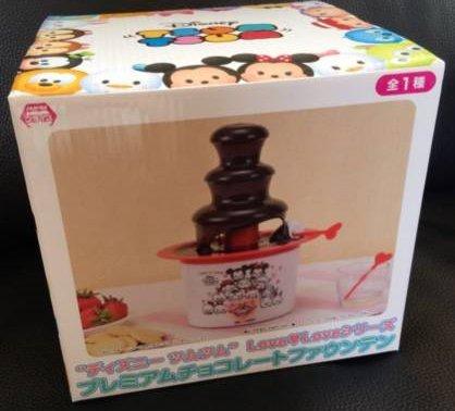 [해외]디즈니 쯔무쯔무 프리미엄 초콜렛 분수/Disney Tsumsum Premium Chocolate Fountain