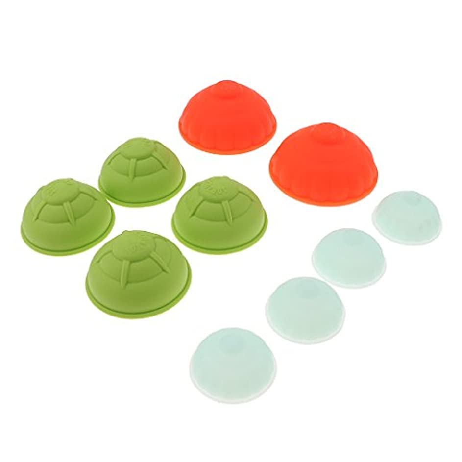 実証するバクテリア淡いFenteer カッピングカップセット シリコン 10個 真空 マッサージ