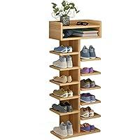 靴のラックのドアシンプルな7階建ての家のアセンブリ経済的な省スペースの靴のキャビネット