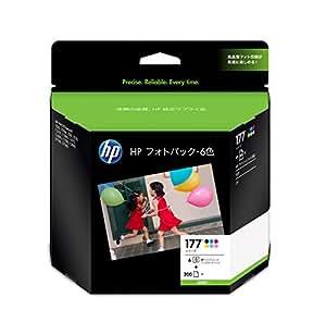 HP インクジェットインク Q7968AJ HP177シリーズ/L判 フォトパック・6色