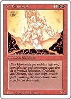 英語版 リバイズド・エディション Revised Edition 3ED 炎の精霊 Fire Elemental マジック・ザ・ギャザリング mtg