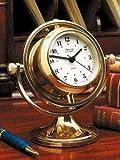 Gimbaled Skipjack Clock and Barometer クロック/バロメーター Weems & Plath社【並行輸入】