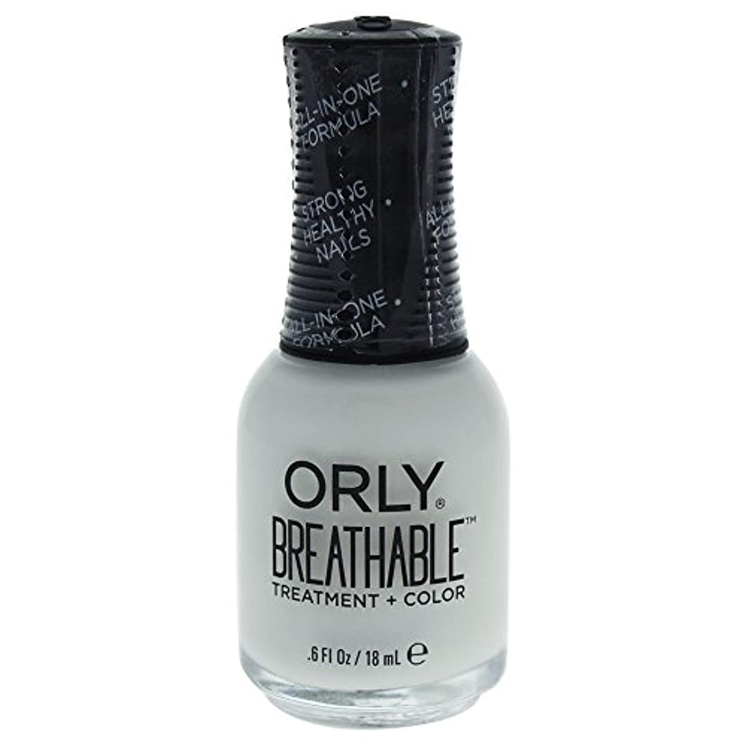 準備ちょうつがいインペリアルOrly Breathable Treatment + Color Nail Lacquer - White Tips - 0.6oz / 18ml