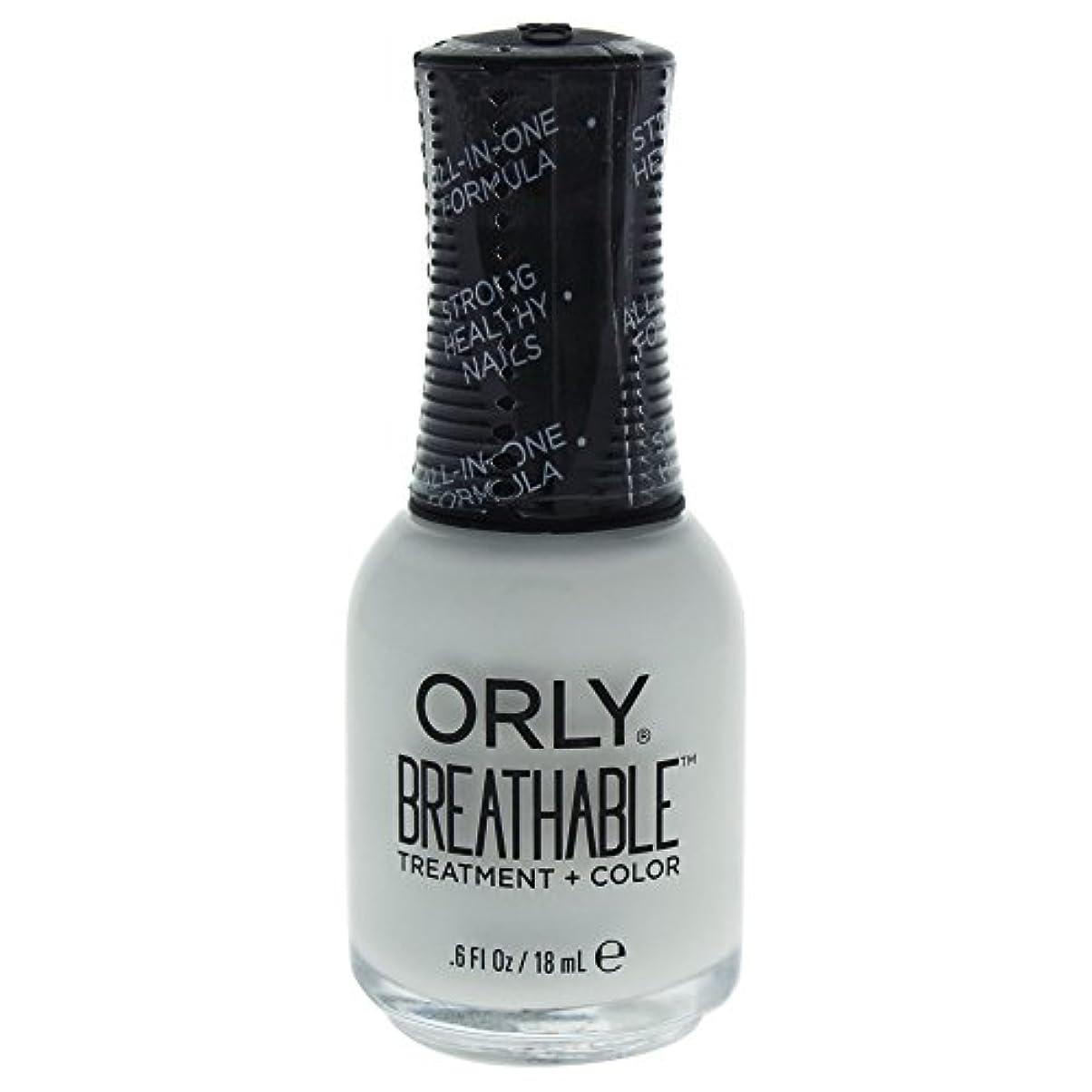 テーマ爵有利Orly Breathable Treatment + Color Nail Lacquer - White Tips - 0.6oz / 18ml