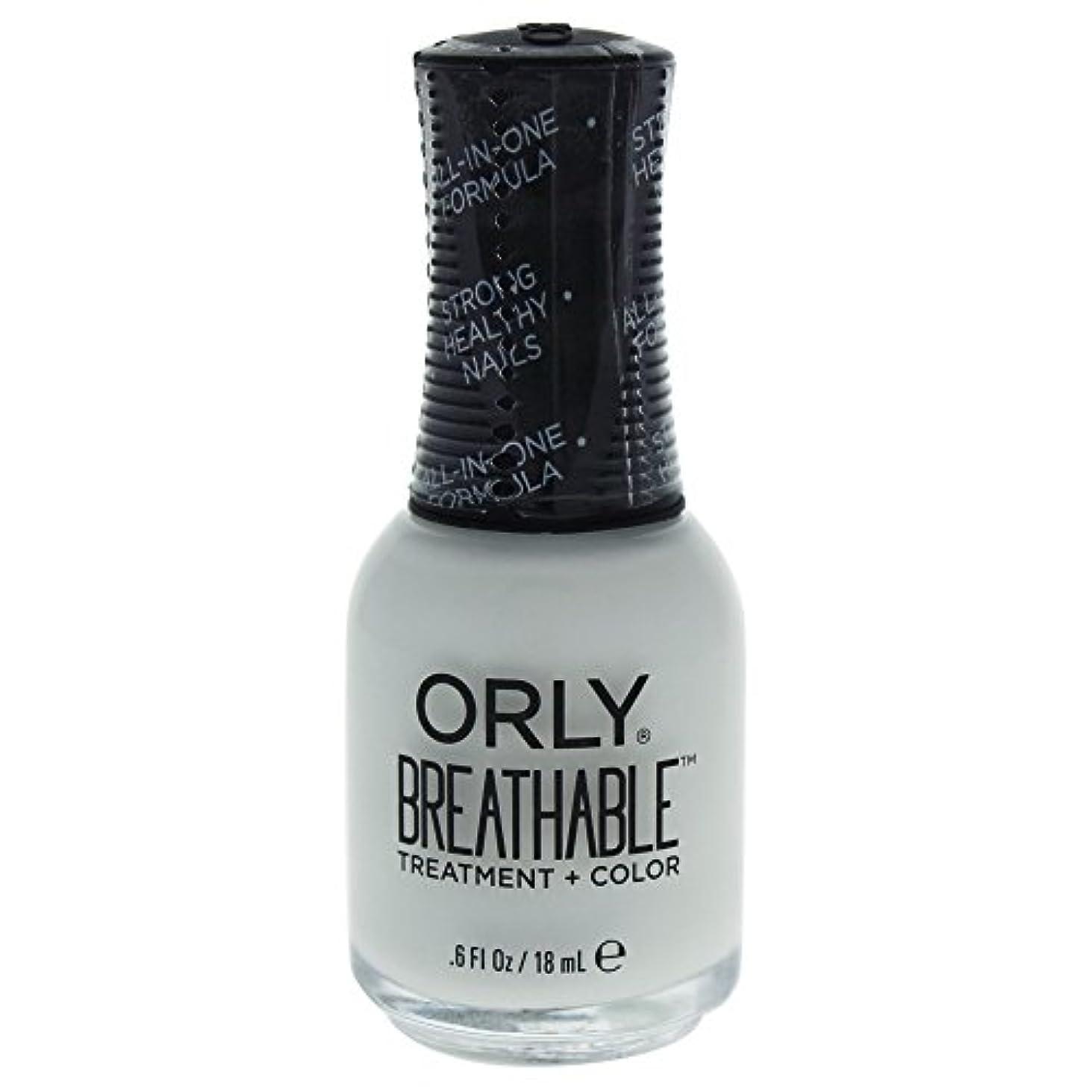 餌投げるルーキーOrly Breathable Treatment + Color Nail Lacquer - White Tips - 0.6oz / 18ml