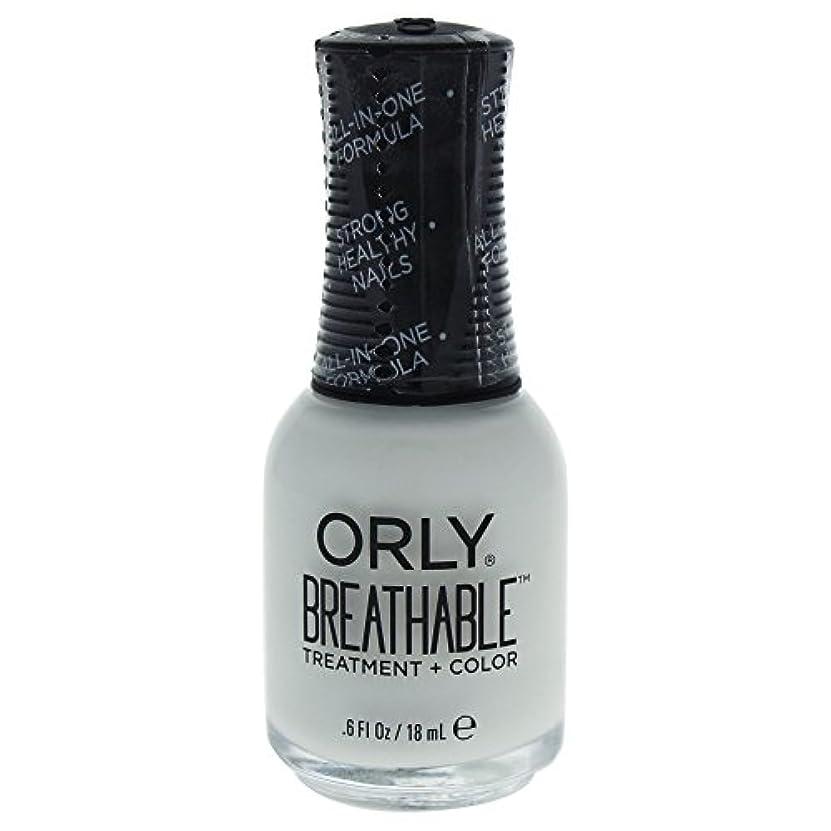 同様の手首ジレンマOrly Breathable Treatment + Color Nail Lacquer - White Tips - 0.6oz / 18ml