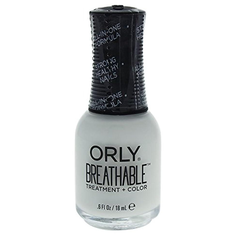 拮抗ポーター損失Orly Breathable Treatment + Color Nail Lacquer - White Tips - 0.6oz / 18ml