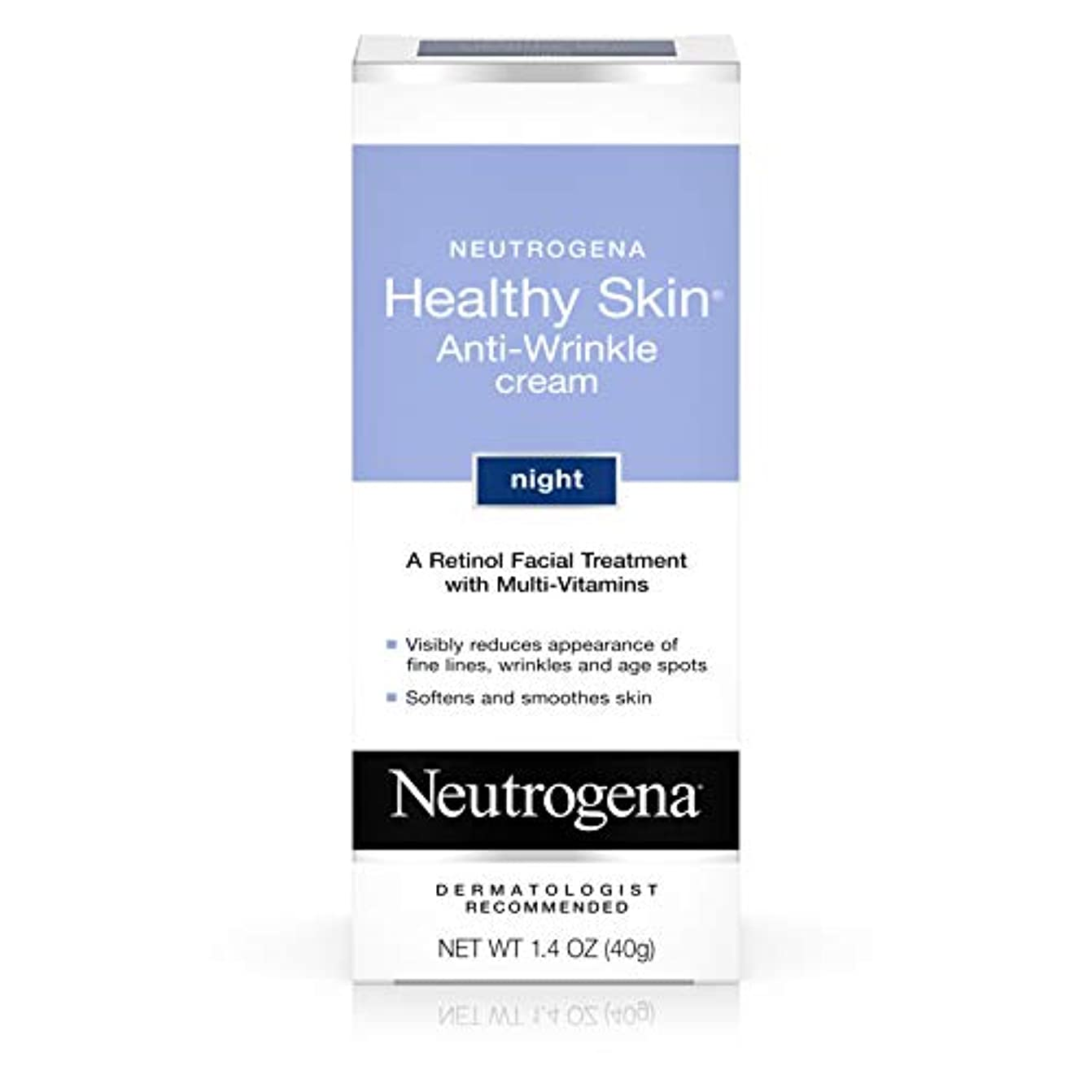 サポートパーセント拒絶Neutrogena healthy skin anti wrinkle cream, original formula - 1.4 oz (並行輸入品)