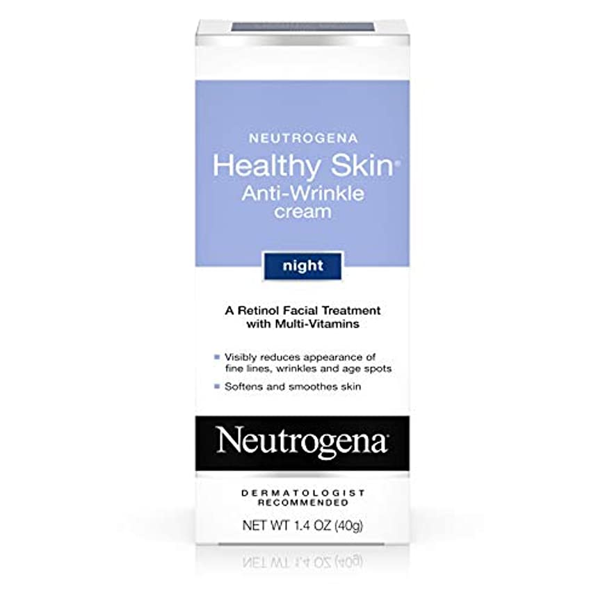 拡大する横類人猿Neutrogena healthy skin anti wrinkle cream, original formula - 1.4 oz (並行輸入品)