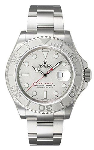(ロレックス) ROLEX 腕時計 ヨットマスター ロレジウム 116622 シルバー メンズ [並行輸入品]