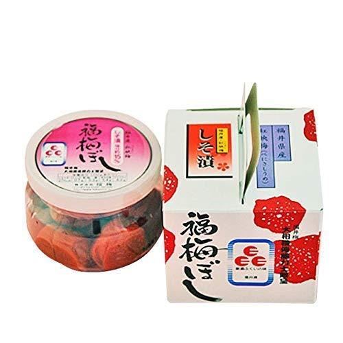 《無添加》塩と紫蘇のみで漬けたしそ漬 塩分15% 福梅ぼし (160g入)[SK-016]<89>