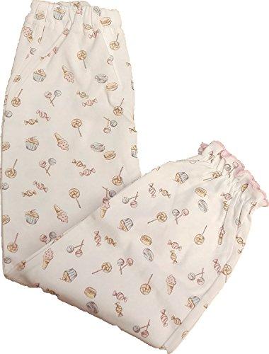 638112 女の子パジャマ お菓子柄 綿100%【春物・秋物】(150, ピンク)