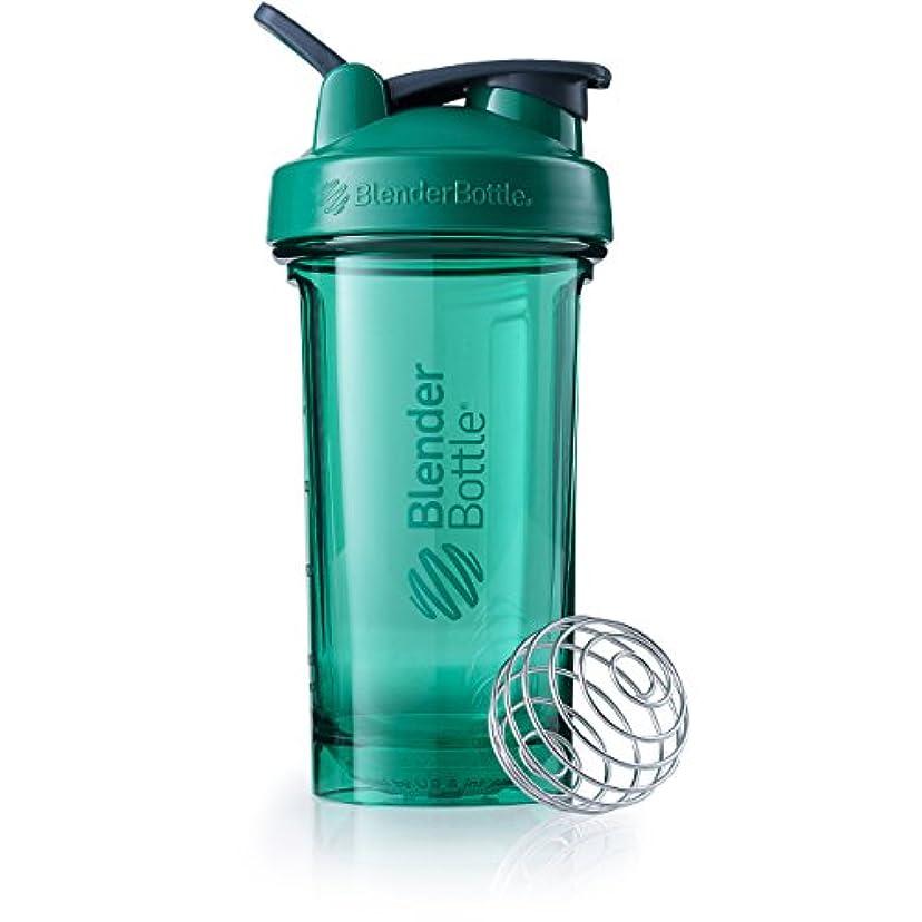 ラジウムご飯基本的なBlenderBottle c03106 pro24 Shaker Bottle、24オンス、エメラルドグリーン