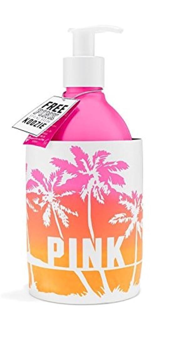 罹患率アジア意味のあるVictoria's Secret ピンクの新鮮なグローローションピンク海塩とパパイヤ