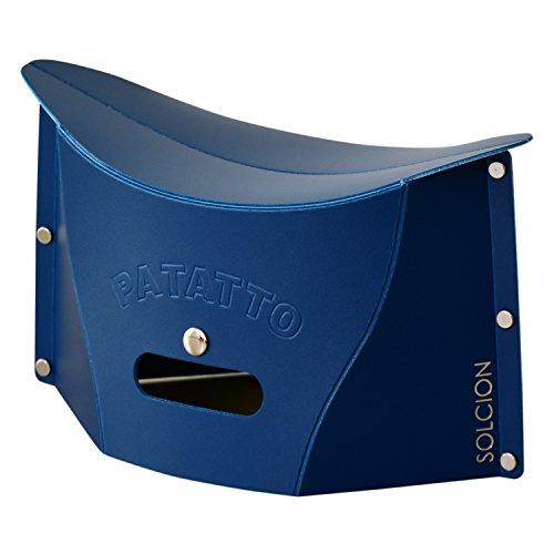 DORIS 折りたたみ椅子 2個セット 軽量 コンパクト アウトドア ネイビ...