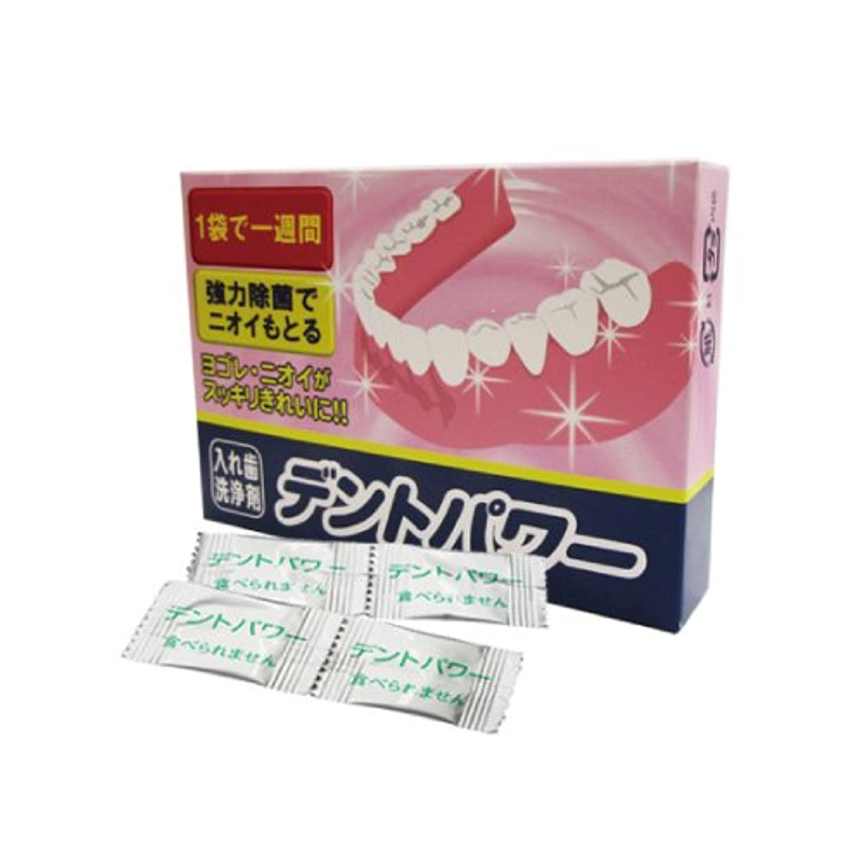 に応じてスキッパー五月【入れ歯洗浄剤】 デントパワー 10ヶ月用(NEW) (専用ケース無し) - DENT POWER