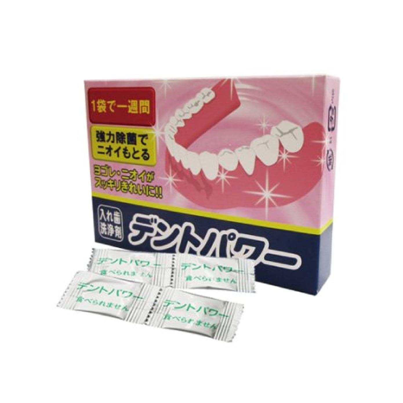 温帯ベーリング海峡免疫【入れ歯洗浄剤】 デントパワー 10ヶ月用(NEW) (専用ケース無し) - DENT POWER