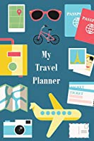 My Travel Planner: Travel Organizer and Vacation Planner for Up to 28 Trips - Checklists, Trip Itinerary, Notes and More - Convenient, Travel Sized Notebook (Trip Organizer)