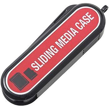 エツミ スライディングメディアケース SDカード5枚、マイクロSDカード2枚収納 VE-6902