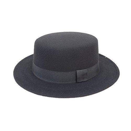 帽子 フェルト ハット カンカン カンカン帽 キーズ Keys
