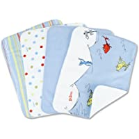 Trend Lab Dr. Seuss 4 Piece Burp Cloth Set, One Fish Two Fish by Trend Lab [並行輸入品]