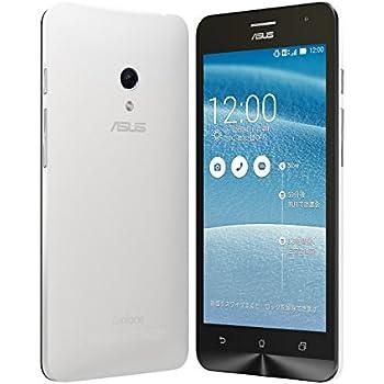 【国内正規品】ASUSTek ZenFone5 ( SIMフリー / Android4.4.2 / 5型ワイド / microSIM / 16GB / LTE / ホワイト ) A500KL-WH16