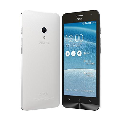 【国内正規品】ASUSTek ZenFone5 ( SIMフリー / Android4.4.2 / 5型ワイド / microSIM / 32GB / LTE / ホワイト ) A500KL-WH32