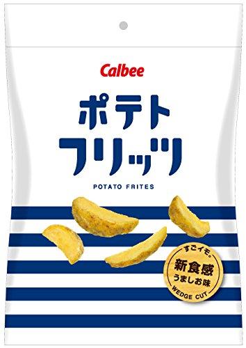 カルビー ポテトフリッツ 新食感 うましお味 50g×12袋