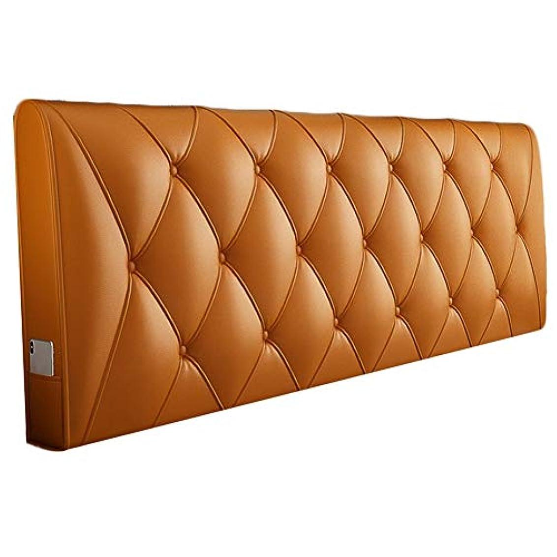 上昇貨物ピケKKCF ヘッドボードクッション立体的な背もたれ防水耐摩耗性ホームPU 、5色 5サイズ (Color : A, Size : 150cm)