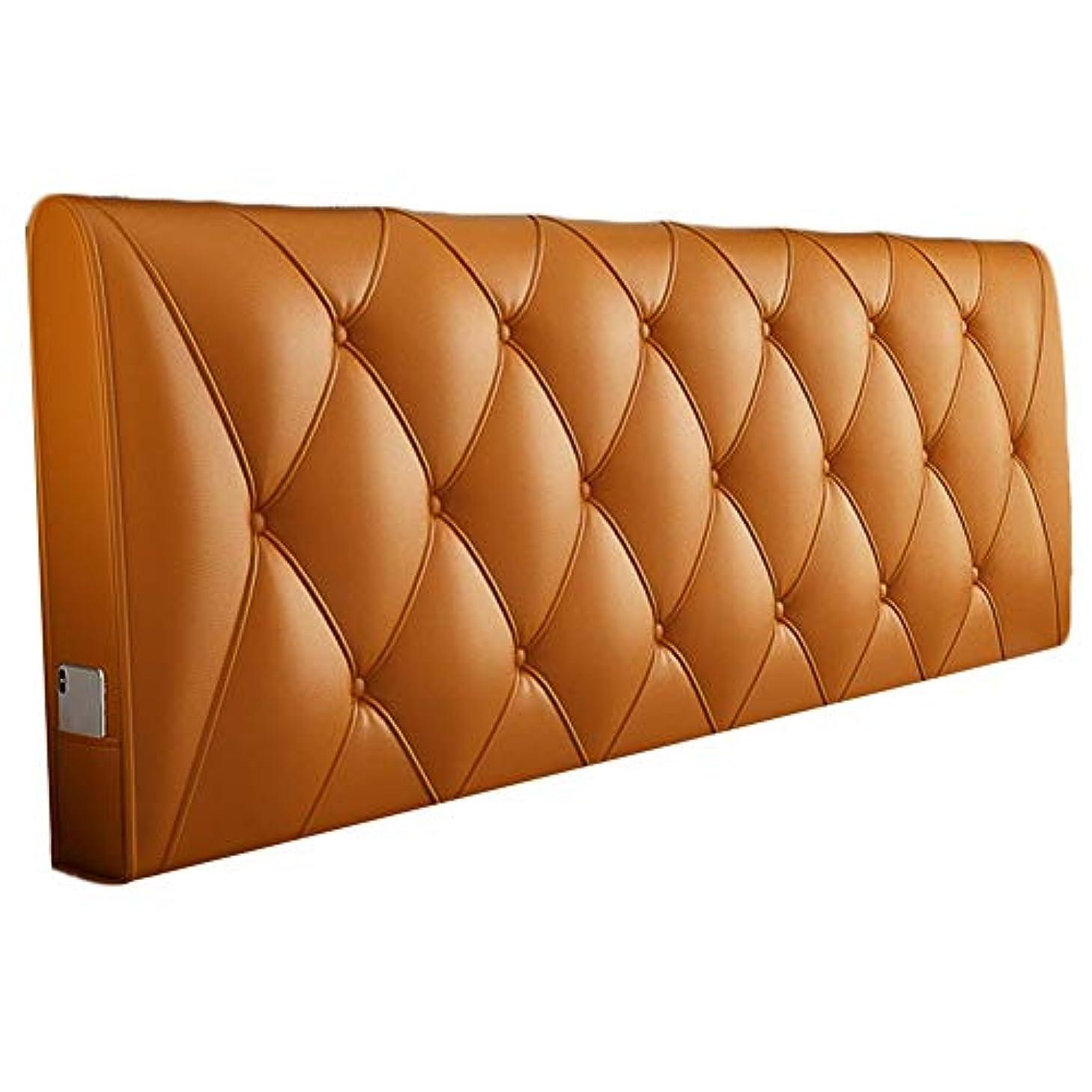 推定国勢調査マーティフィールディングKKCF ヘッドボードクッション立体的な背もたれ防水耐摩耗性ホームPU 、5色 5サイズ (Color : A, Size : 150cm)