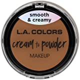 (3 Pack) L.A. COLORS Cream To Powder Foundation - Sand (並行輸入品)