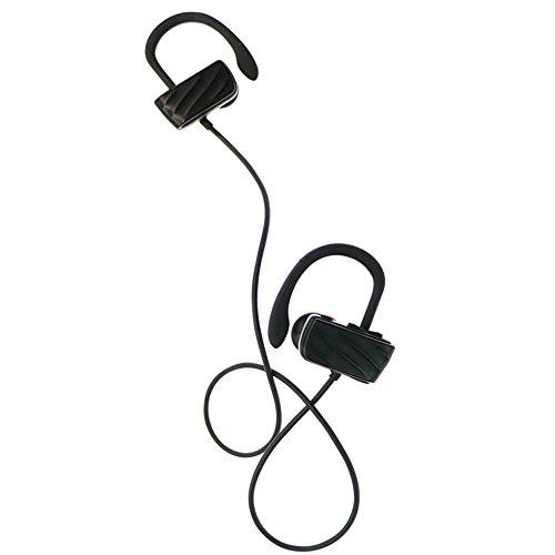X-LIVE S560 Bluetooth イヤホン カナル型 ワイヤレスイヤホン ブルートゥース イヤホン CVC6.0ノイズキャンセリング搭載 ハンズフリー通話 防汗 防滴スポーツ仕様(ブラック)