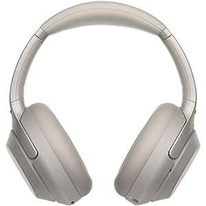 ソニー SONY ワイヤレスノイズキャンセリングヘッドホン WH-1000XM3 S : LDAC/Bluetooth/ハイレゾ 最大30時間連続再生 密閉型 マイク付 2018年モデル プラチナシルバー