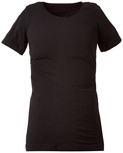メンズ矯正下着TEKKIN Tシャツ ブラック (Lサイズ)