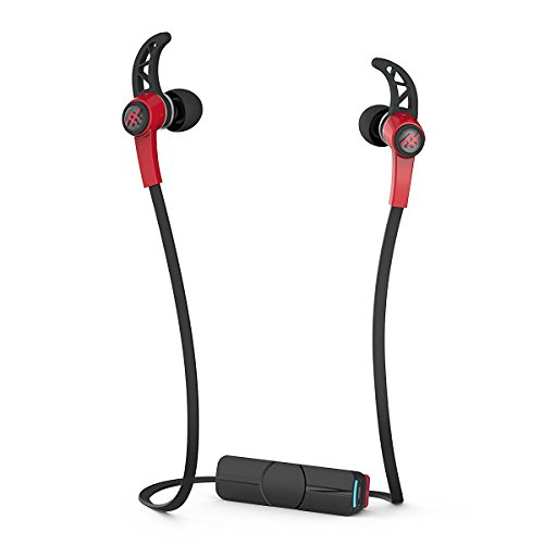 【日本正規代理店品】iFrogz summit wireless Bluetoothイヤホン レッド MOP-EP-000002