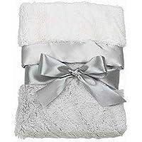 Bearington Baby Silky Soft Crib Blanket Elephant by Bearington [並行輸入品]