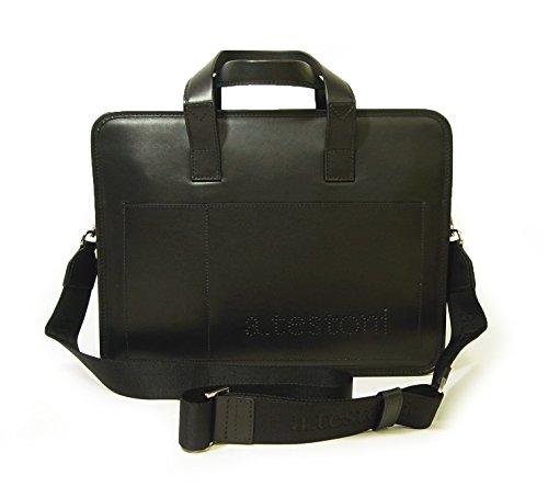 (テストーニ)Testoni ブリーフケース ビジネスバッグ ナッパカーフレザー BU05237 TS-82 [並行輸入品]